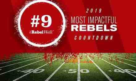 Most Impactful Rebels for 2019: No. 9 Ben Brown