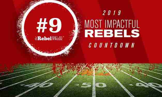Most Impactful Rebels for 2019: No. 9 Ben Brown