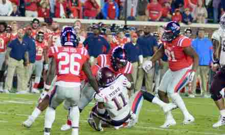 Rebels suffer tough loss to Aggies, 24-17