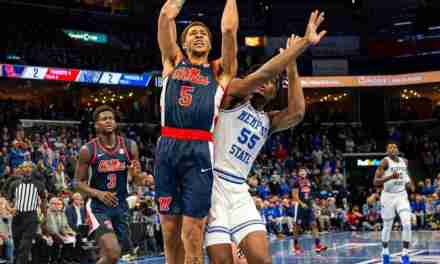 Rebels come up just short in hard-fought loss to Memphis, 87-86