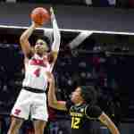 Tyree leads Rebels to Win on Senior Night