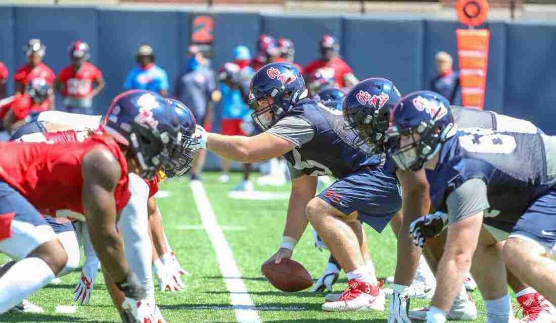 VIDEO: Rebels hit the field for first practice of fall camp