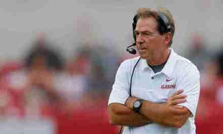 Alabama head coach Nick Saban, Tide not looking past Lane Kiffin's Rebels