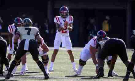 Ole Miss' Matt Corral Named Davey O'Brien National QB of the Week