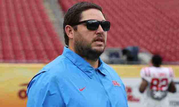 Ole Miss Inks OC Jeff Lebby To New Contract
