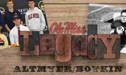QB Luke Altmyer continues Rebel family legacy