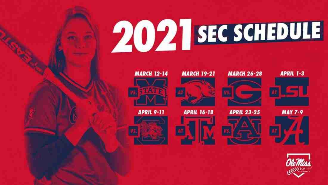Softball Announces 24-Game SEC Schedule