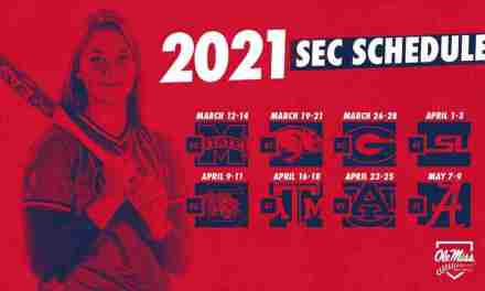 Softball Announces 24-Game SEC Schedule