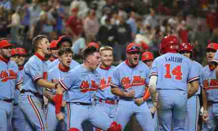 No. 1 Ole Miss defeats Texas, Sweeps College Baseball Showdown