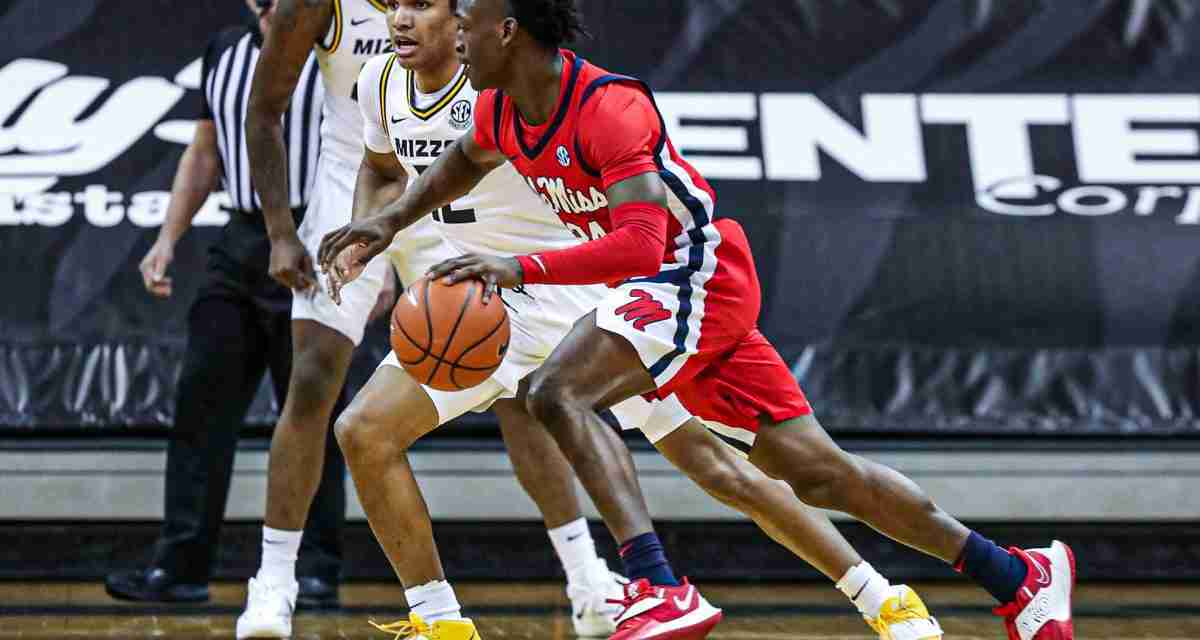Ole Miss keeps NCAA tourney hopes alive with 60-53 win at No. 24 Missouri
