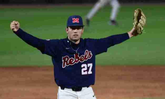 No. 3 Ole Miss takes two from Alabama to win series, goes for sweep Saturday