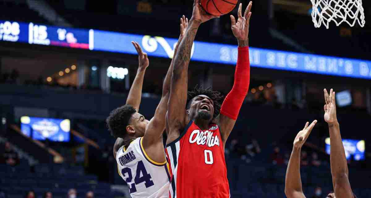 Ole Miss Men's Basketball Receives No. 1 Seed in NIT