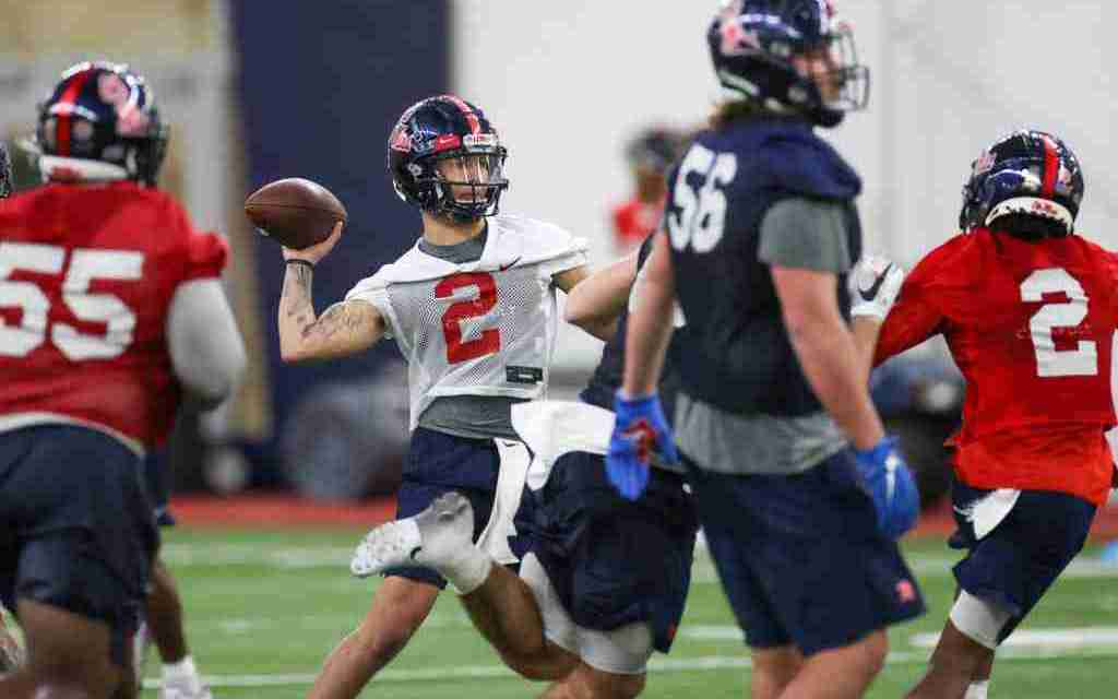 Sights and sounds from Day One of Ole Miss Spring Football