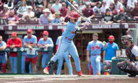 Rebels drop series to State, 2-1, in Starkville