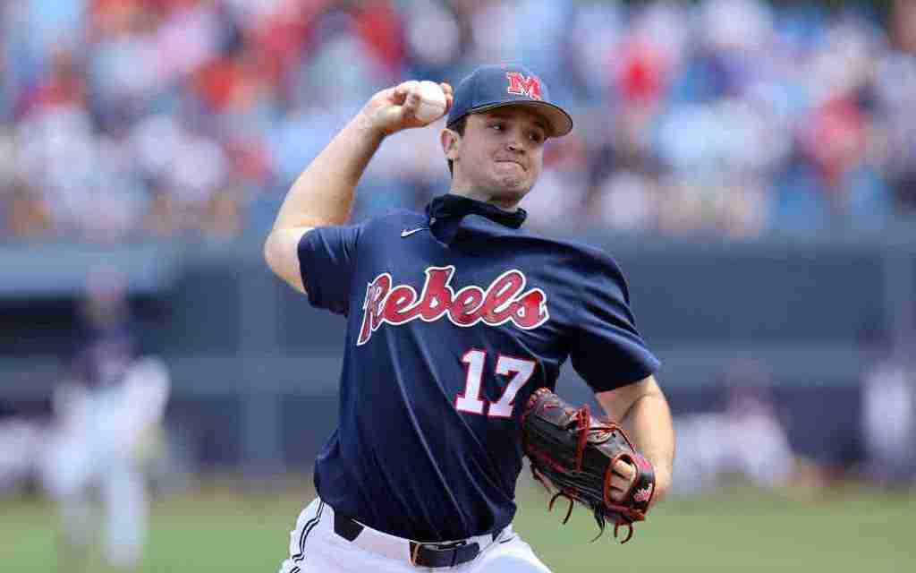Ole Miss ace Gunnar Hoglund suffers torn UCL, will have Tommy John surgery