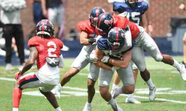 From the Vaught: Ole Miss Defense Shines During Saturday's Practice