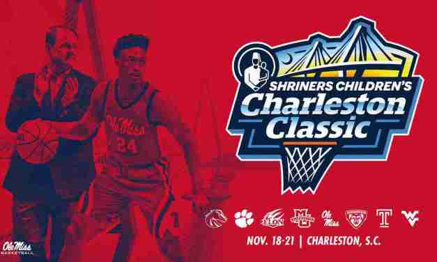 Ole Miss Hoops to Compete in 2021 Shriners Children's Charleston Classic