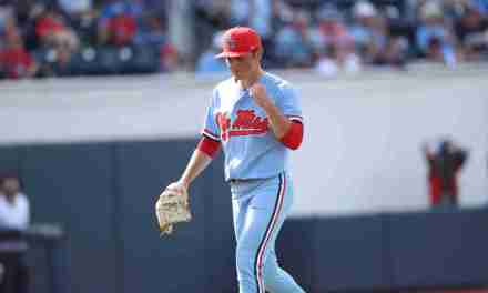 No. 18 Diamond Rebels close the door on No. 2 Vandy to win series