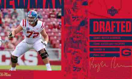 Packers Select Ole Miss OL Royce Newman in Fourth Round of NFL Draft