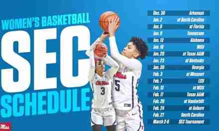 Ole Miss Women's Basketball Unveils 2021-22 SEC Schedule