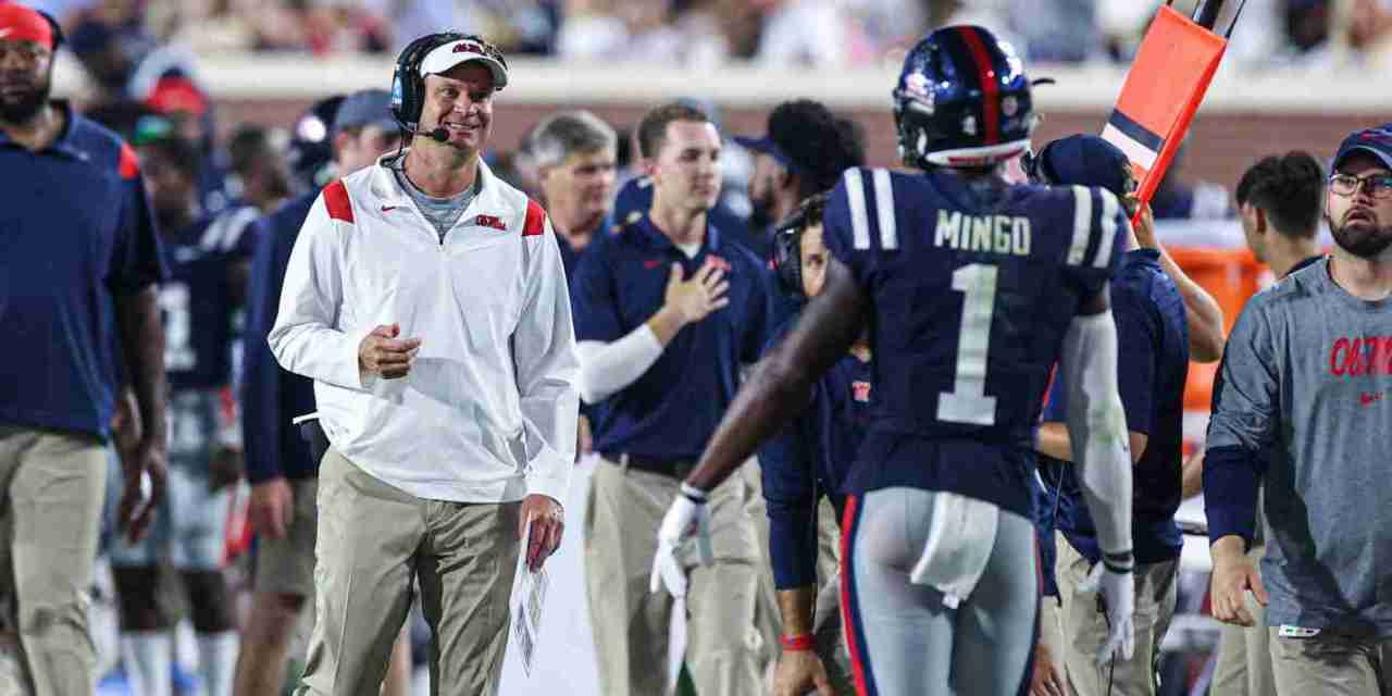 VIDEO: Lane Kiffin talks after Rebels' 54-17 win over Austin Peay