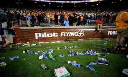 Vols litter field in 31-26 loss to Ole Miss causing delay; SEC Commissioner Greg Sankey issues statement