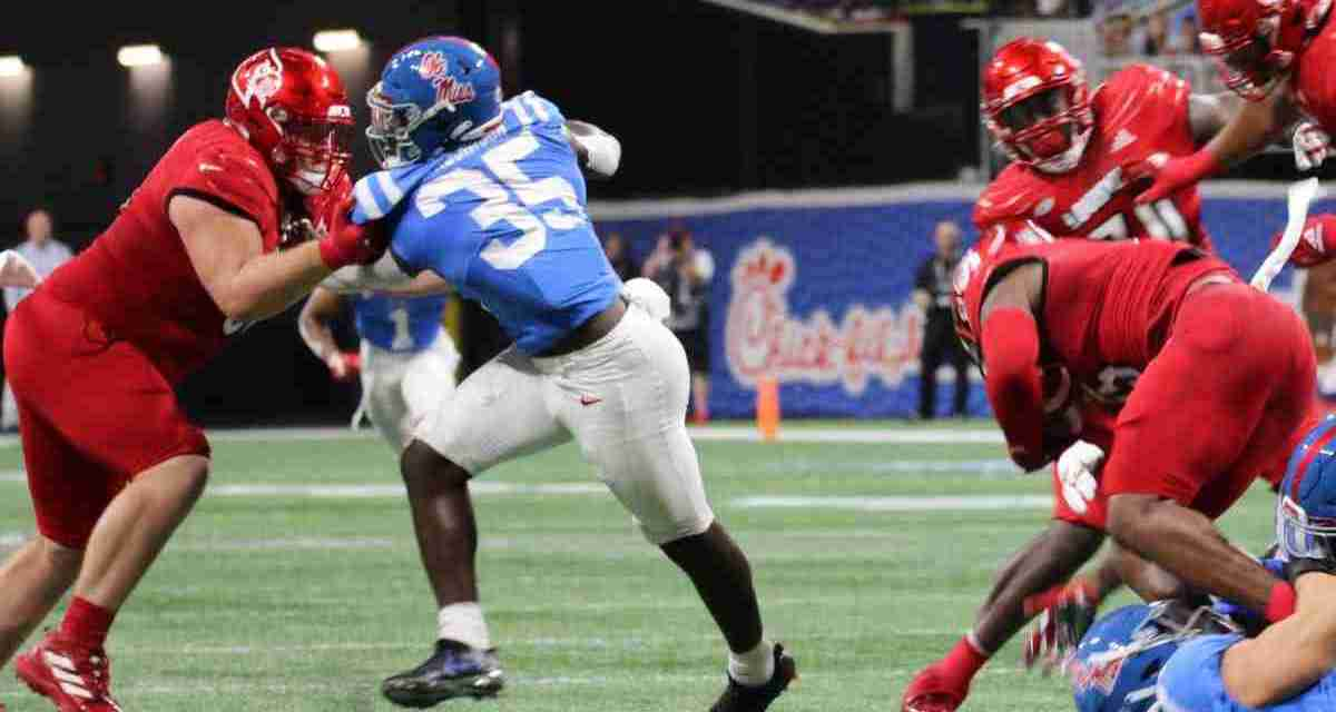 Mark Robinson finds a home at linebacker, and a scholarship, with the Rebels