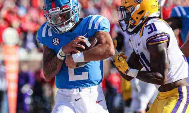 In a Nutshell:  A Look at Ole Miss' 31-17 win over LSU