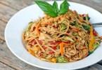 Spicy Chicken Peanut Pasta - TheRecipe.Website