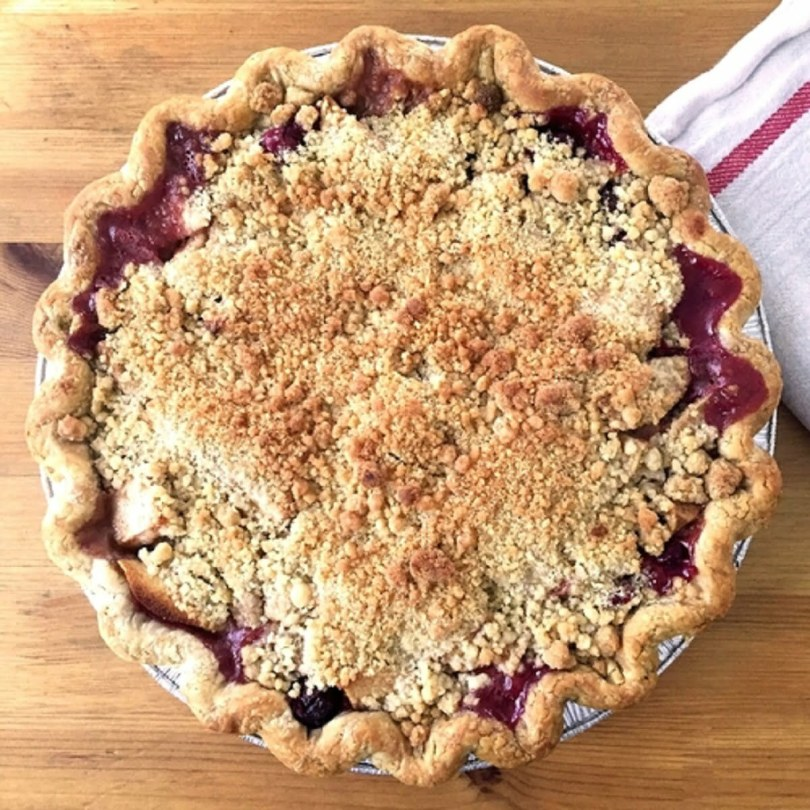 Cranberry Pear Crumble