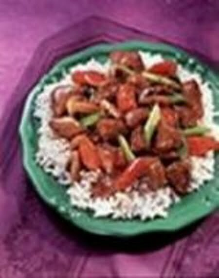 Red Cooked Pork Vegetables - TheRecipe.Website
