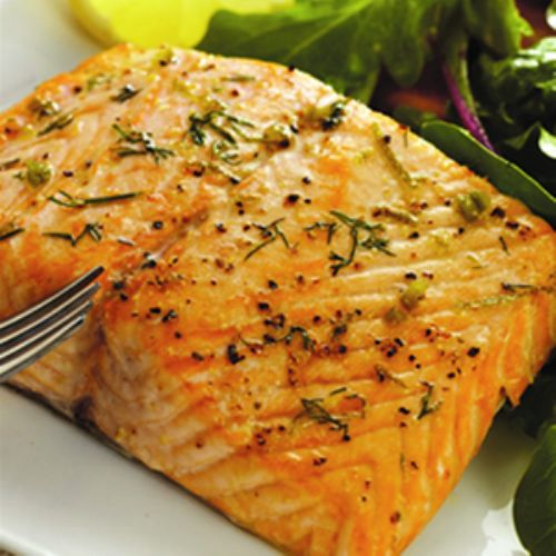 An easy recipe for fresh baked salmon from onlinerecipe.club