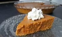 Crustless Pumpkin Pie