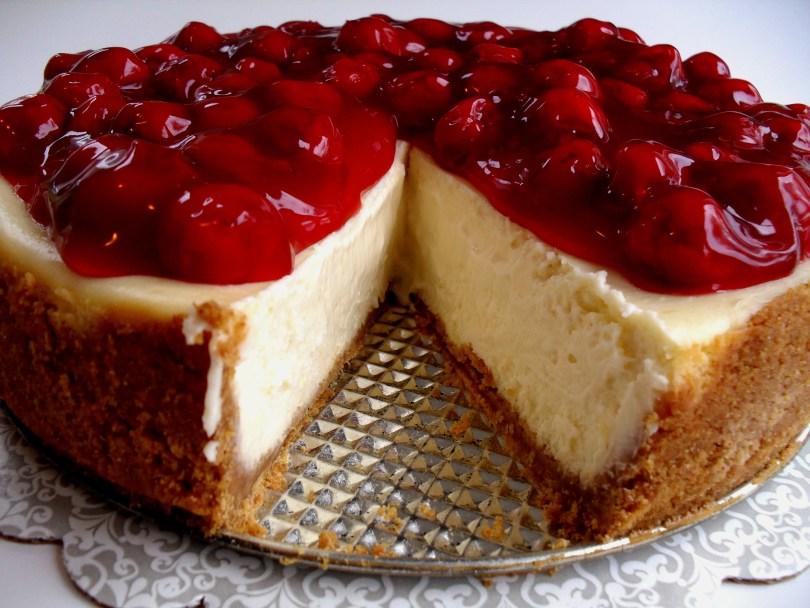 Delicious Cherry Cheesecake