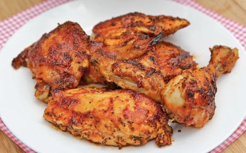 Grilled Chicken in Orange BBQ Sauce - TheRecipe.Website