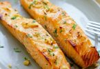 Grilled Salmon with Mustard Butter - TheRecipe.Website