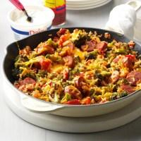 Sausage, Broccoli, and Rice Casserole