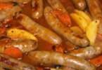 Apple and Sausage Casserole