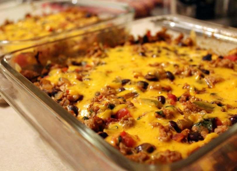 Enchilada Casserole Recipe - TheRecipe.Website