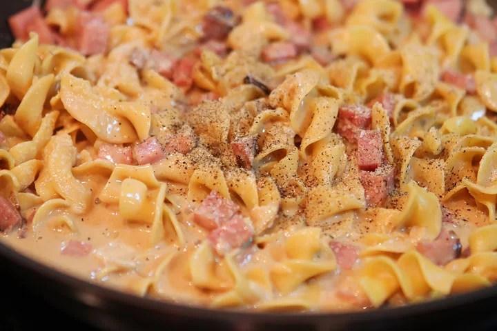 Ham and Noodle Casserole - TheRecipe.Website