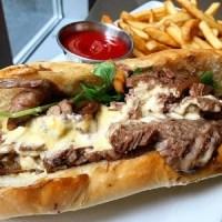 Philly Cheese Steak Sandwich - TheRecipe.Website