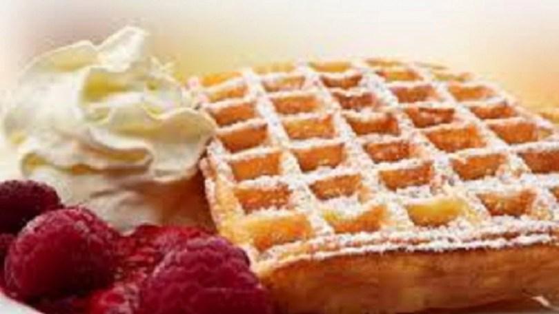 Belgian Waffles - Vlaamse Wafels, Gaufres a la Flamande