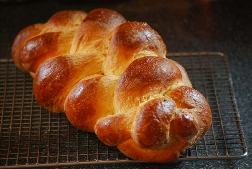 Challah - Braided Egg Bread