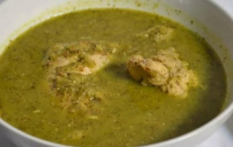 Mexican Chicken in Green Sauce - Pollo en Mole Verde - Onlinerecipe.website