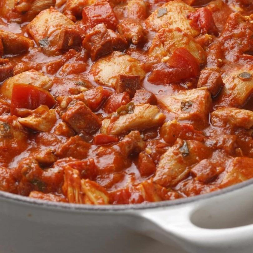 Ragout of Chicken and Sausage - Onlinerecipe.website