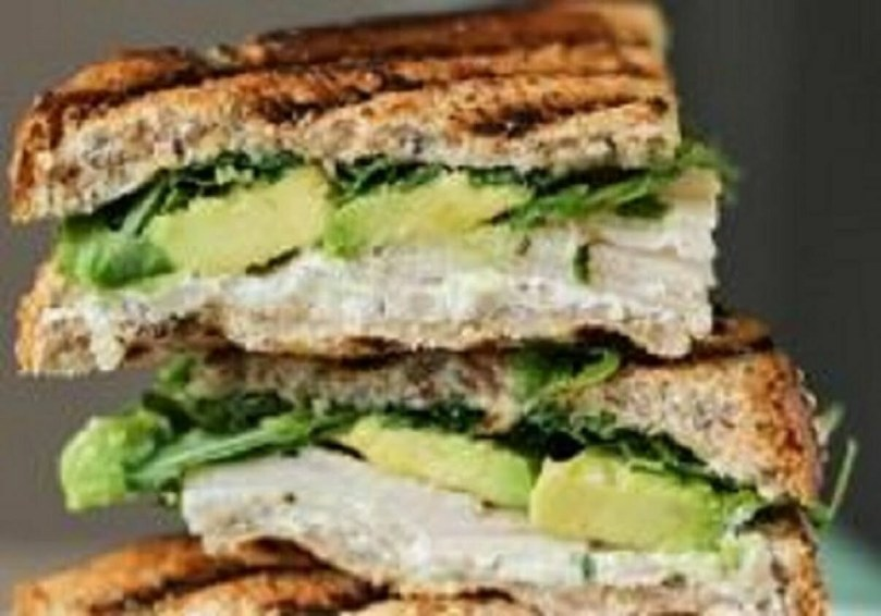 Avocado and Goats Cheese Sandwich