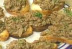 Chicken Liver Crostinis