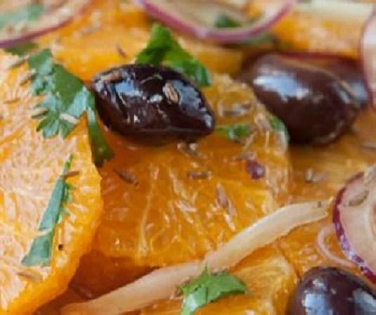 Orange and Olive Salad - Onlinerecipe.club