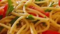 Spaghetti with Olives and Capers - Spaghetti all Vesuviana