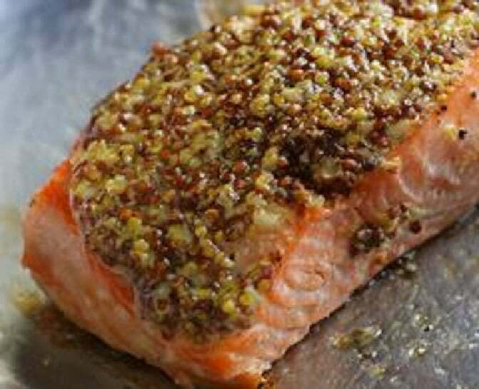 Mustard Crusted Salmon - TheRecipe.Website